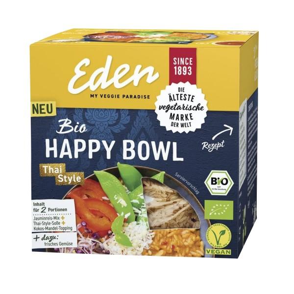 Eden HAPPY BOWL Thai Style, BIO, 274g