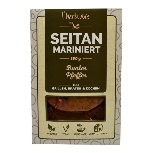 L'Herbivore GRILLSCHEIBE Bunter Pfeffer, BIO, 180g