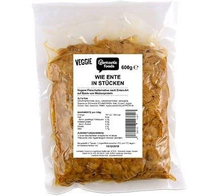 Vantastic foods VEGGIE wie Ente in Stücken, 600g