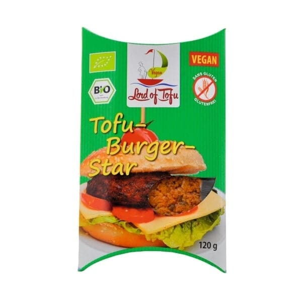 Lord of Tofu BURGER STAR, BIO, 120g
