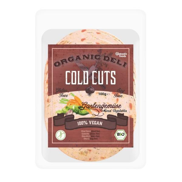 Vantastic foods COLD CUTS Gartengemüse, BIO, 100g