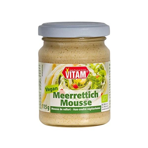 VITAM MEERRETTICH MOUSSE, BIO, 115g