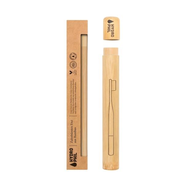 Hydrophil ZAHNBÜRSTEN ETUI aus Bambus