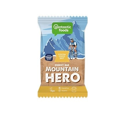Vantastic foods MOUNTAIN HERO Cocoa-Coconut Energieriegel, 68g