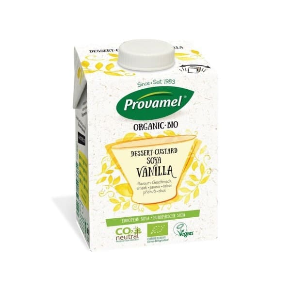 Provamel SOJA-DESSERT mit Vanillegeschmack, BIO, 525g