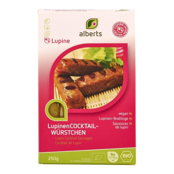 Alberts LUPINEN-COCKTAILWÜRSTCHEN, BIO, 250g