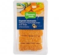 Vantastic foods CAPTAIN VANTASTIC vegane Fischstäbchen aus Soja, 190g