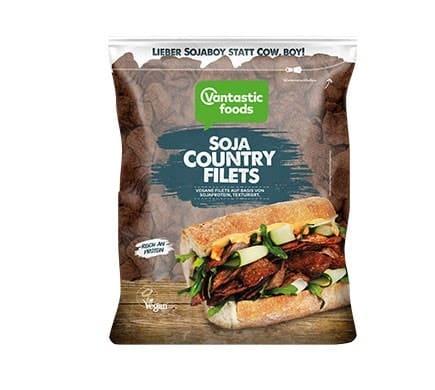 Vantastic foods SOYA COUNTRY FILETS, 150g
