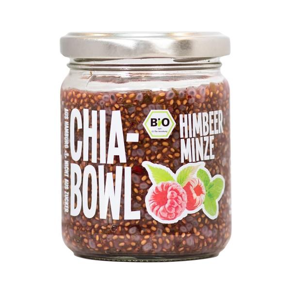 Chia-Bowl HIMBEER MINZE, BIO, 200g