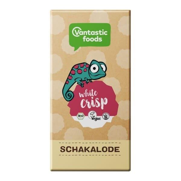Vantastic foods SCHAKALODE White Crisp, BIO, 80g