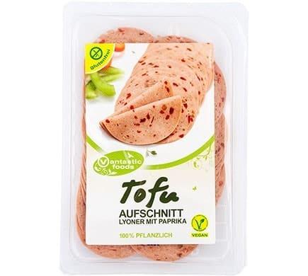 Vantastic Foods TOFU Aufschnitt Paprika-Lyoner ...