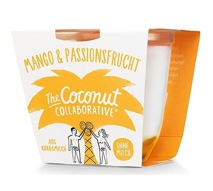 The Coconut Collaborative KOKOSZUBEREITUNG Mango-Passionsfrucht, 120g