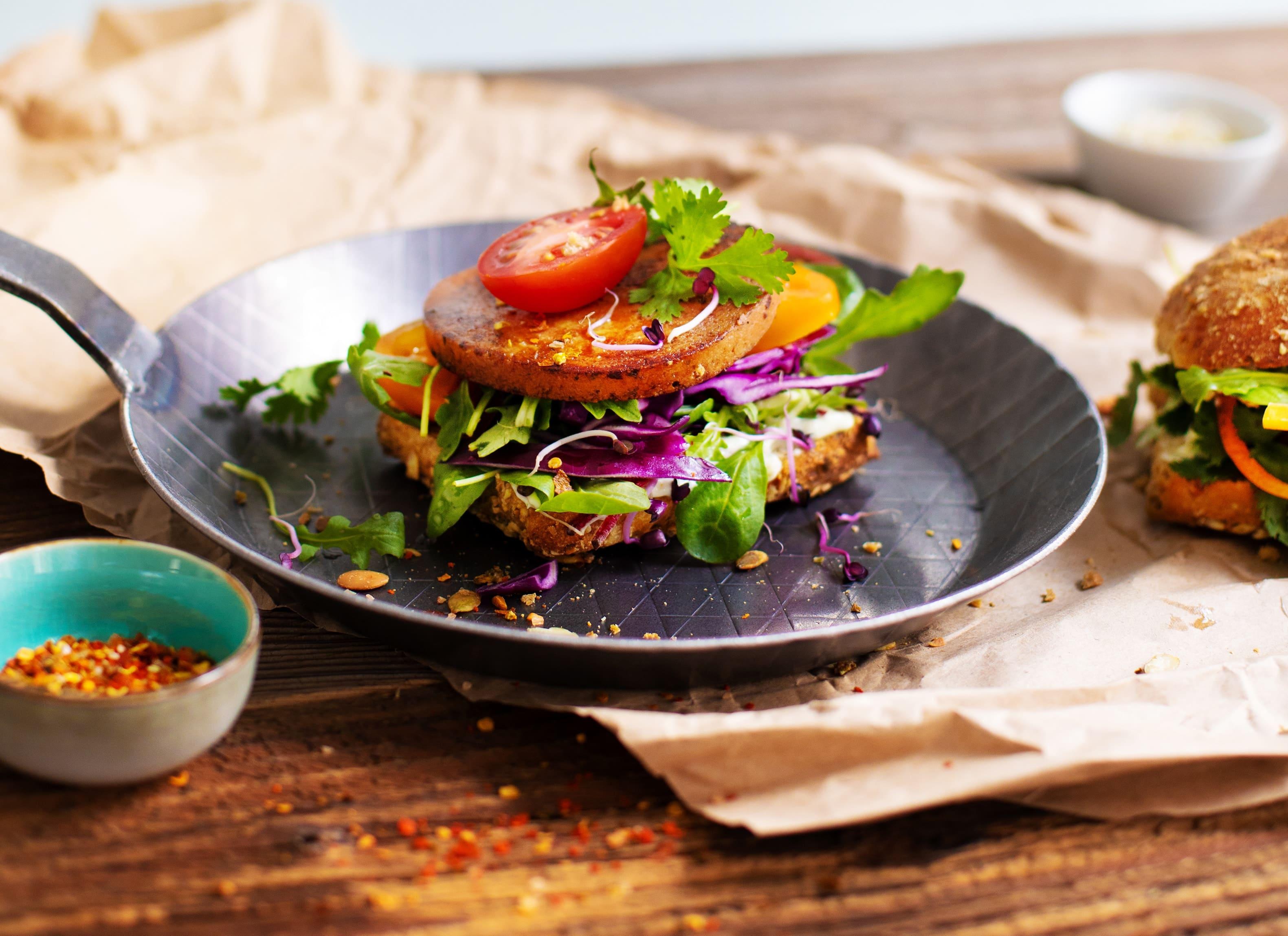 Vantastic foods Burger Deluxe