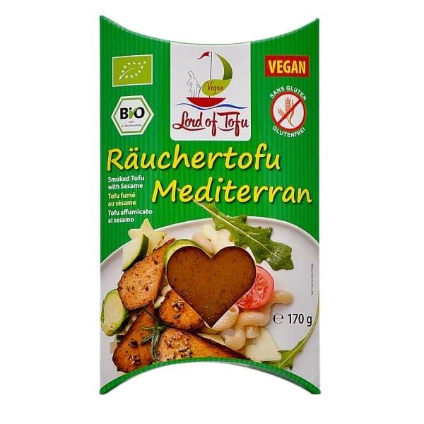 Lord of Tofu RÄUCHERTOFU Mediterran, BIO, 170g