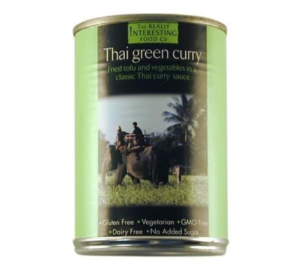 The Really Interesting Food Company THAI GREEN CURRY, 400g