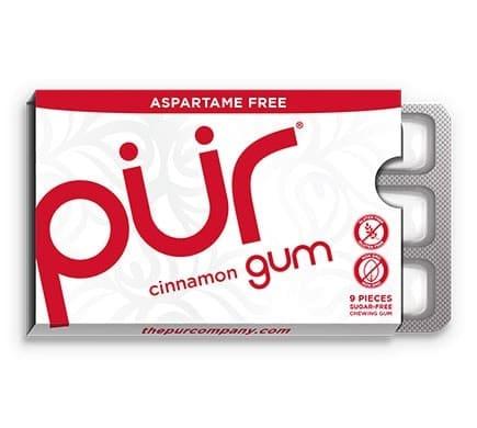 PÜR GUM CINNAMON Kaugummi, 12,6g