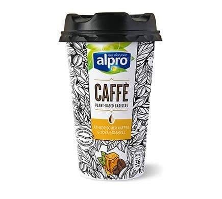 Alpro CAFFÈ Äthiopischer Kaffee & Soya Karamell, 235ml