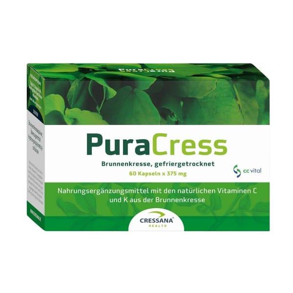 Cressana Pura Cress, BIO, 22,5g (60 Kapseln)
