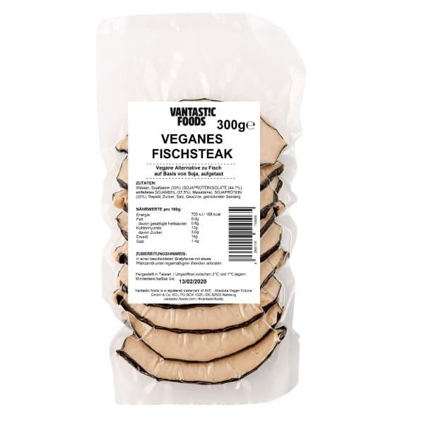 Vantastic foods VEGANES FISCHSTEAK, 300g