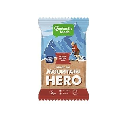 Vantastic foods MOUNTAIN HERO White-Hazelnut Energieriegel, 62g