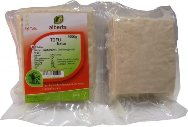 Alberts TOFU Natur, BIO, 1kg