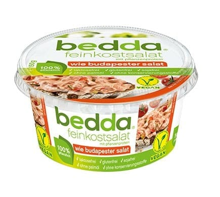 bedda FEINKOSTSALAT wie Budapester Salat, 150g