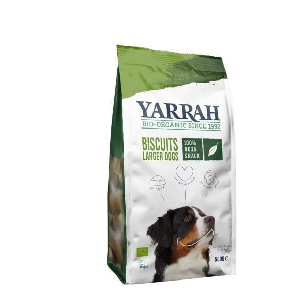 Yarrah Bio HUNDEKEKSE vegetarisch (vegan), 500g
