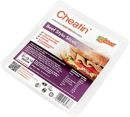 VBites CHEATIN Beef Style Slices, 100g