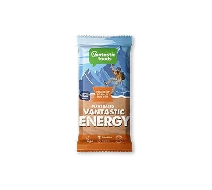Vantastic foods VANTASTIC ENERGY Crunchy-Peanut-Butter Energieriegel, 65g