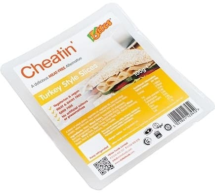 VBites CHEATIN TURKEY STYLE Slices, 100g