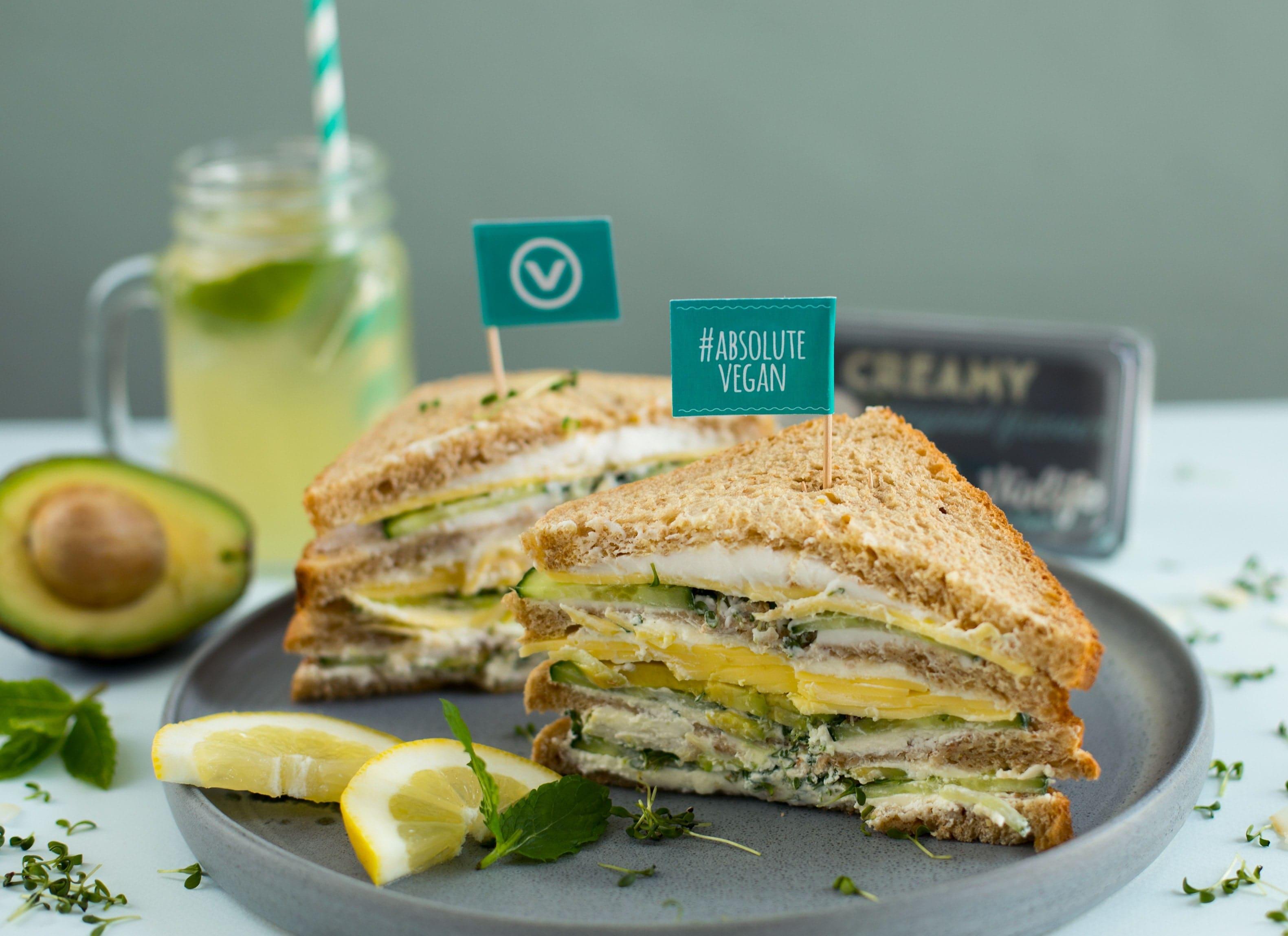 Veganes Schmelz-Sandwich