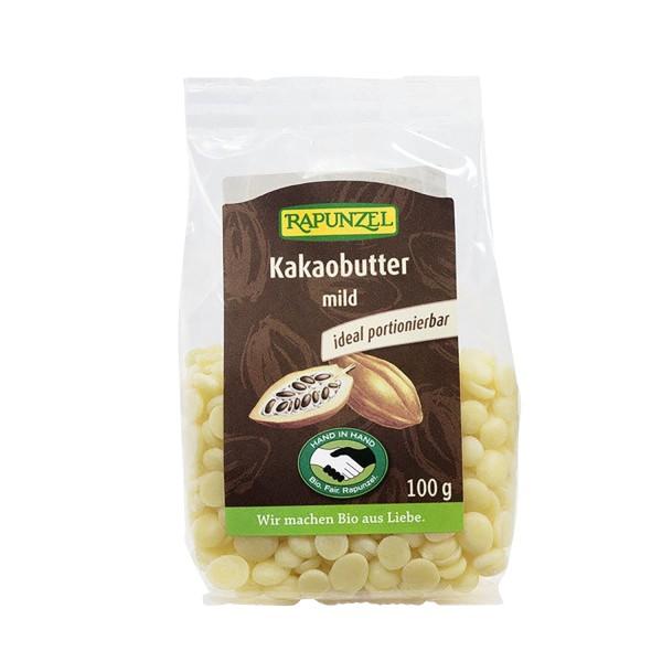 Rapunzel KAKAOBUTTER mild, 100g