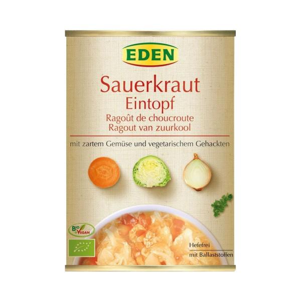 Eden BIO- SAUERKRAUTEINTOPF, 560g