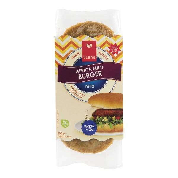 Viana AFRICA MILD Burger, BIO, 200g