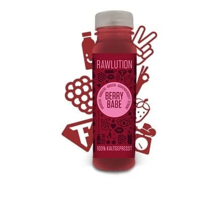 Rawlution BERRY BABE Superjuice, 250ml