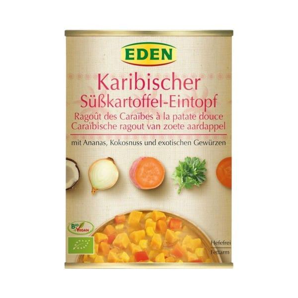 Eden KARIBISCHER SÜSSKARTOFFEL-EINTOPF, BIO, 560g