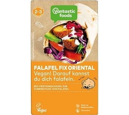 Vantastic foods FALAFEL FIX Falafel Pulver Oriental, BIO, 160g
