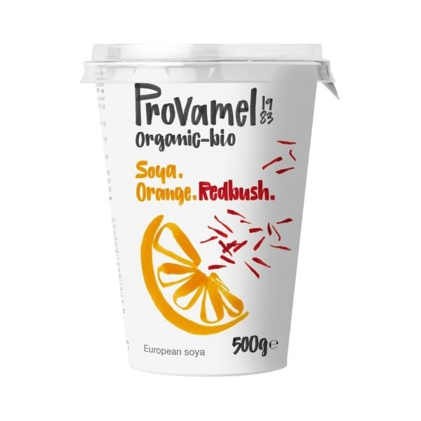 Provamel SOJA ALTERNATIVE ZU JOGHURT Orange-Rooibos, BIO, 500g