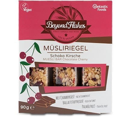 Vantastic Foods BEYOND FLAKES Müsliriegel Schok...