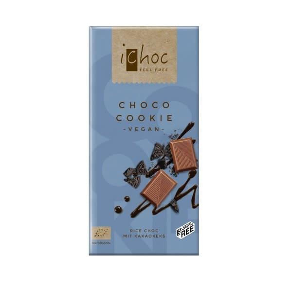 iChoc CHOCO COOKIE mit Kakaokeks, BIO, 80g