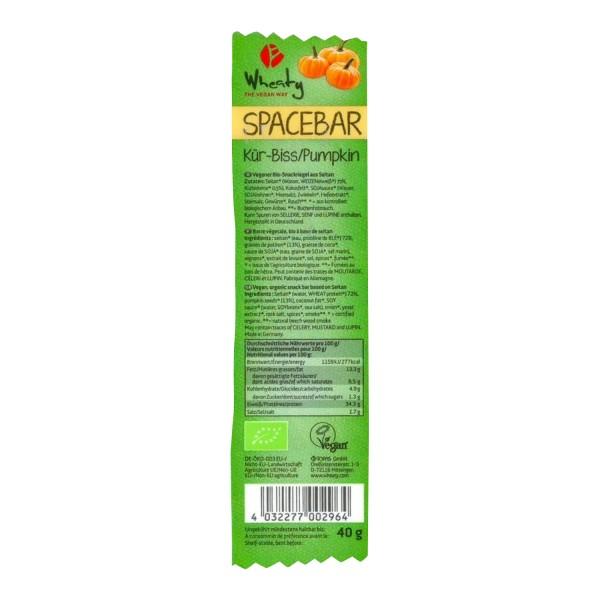 Wheaty SPACEBAR Kür-Biss, BIO, 40g