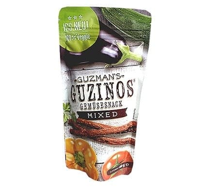 Guzman's Guzinos GEMÜSESNACK Mixed, 60g