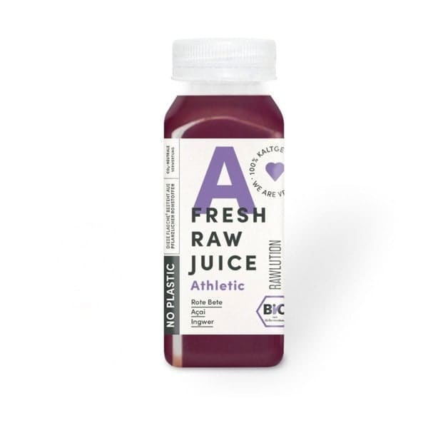 Rawlution FRESH RAW JUICE Athletic, BIO, 250ml