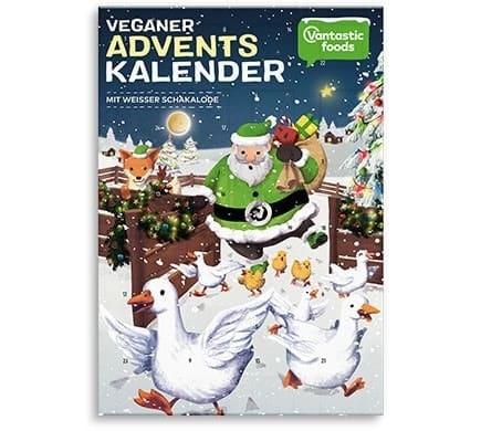 Vantastic foods WEISSE SCHAKALODE Adventskalender, 150g