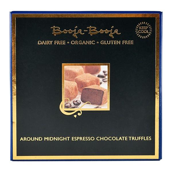 Booja-Booja AROUND MIDNIGHT Espresso-Trüffel, BIO, 104g