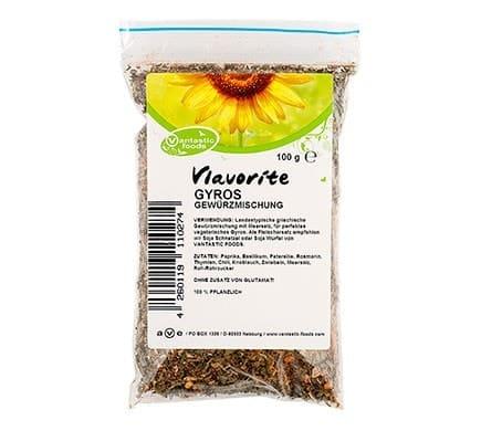Vantastic Foods Vlavorite GYROS Gewürzzubereitung mit Meersalz, 100g
