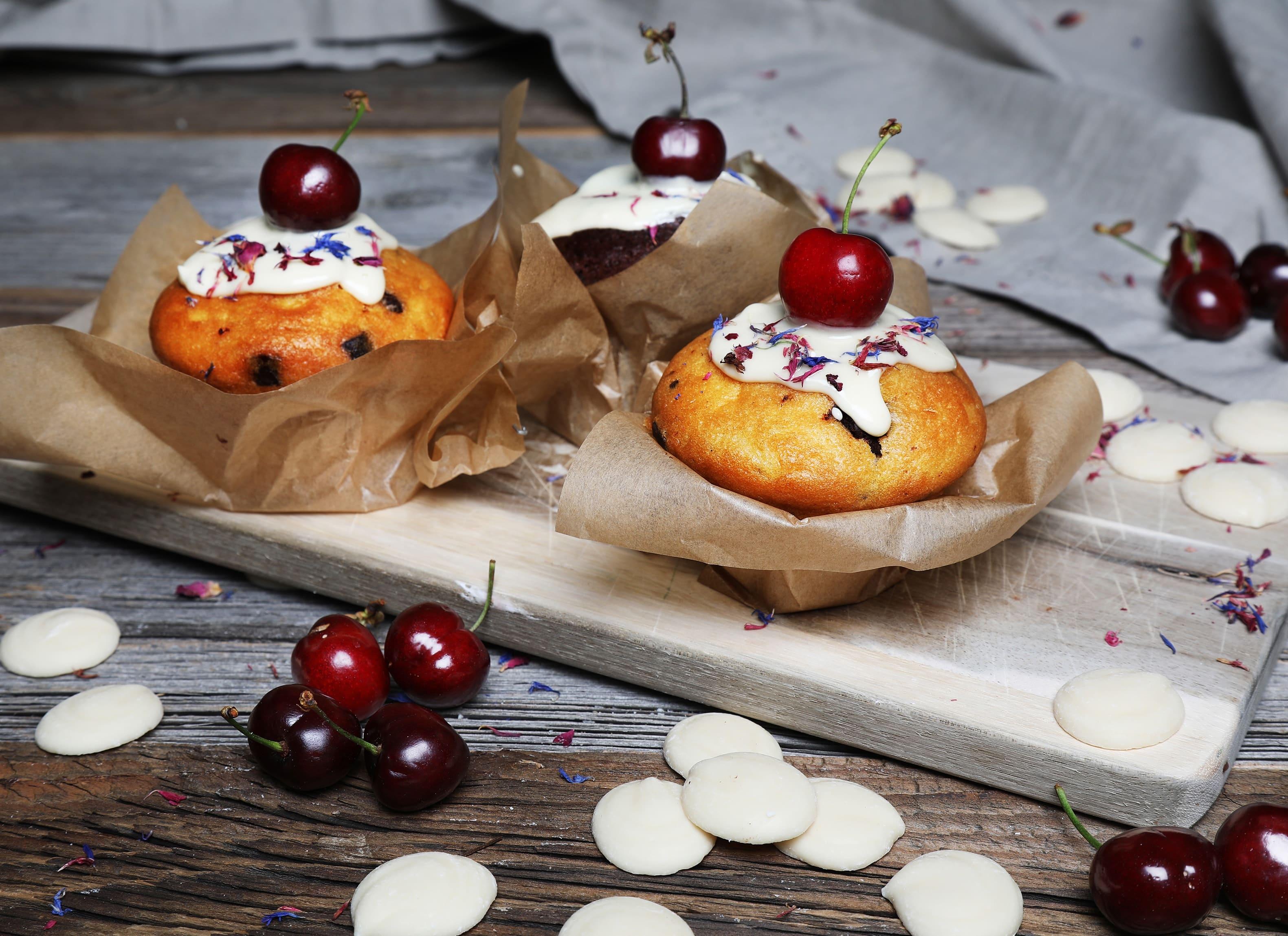 Fruchtige Kirsch-Muffins