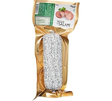 vantastic foods vegane salami 320g auf weizenbasis g nstig bestellen. Black Bedroom Furniture Sets. Home Design Ideas
