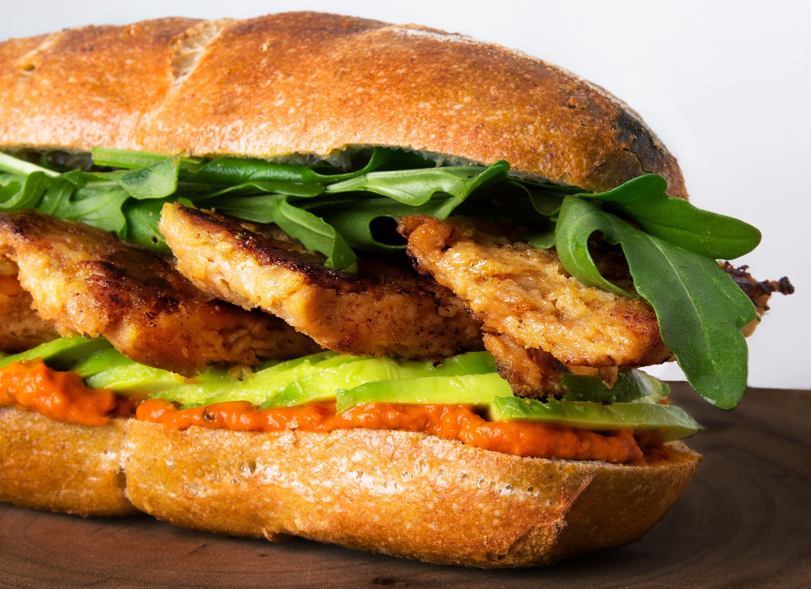 Vantastic foods Soja-Medaillons Sandwich