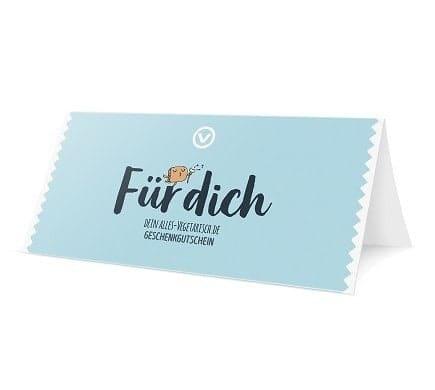 GESCHENK-GUTSCHEIN Wert 25,- EUR